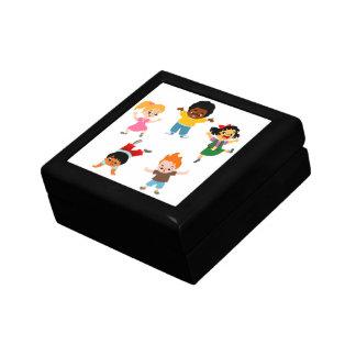Five Kids Cartoon Gift Box