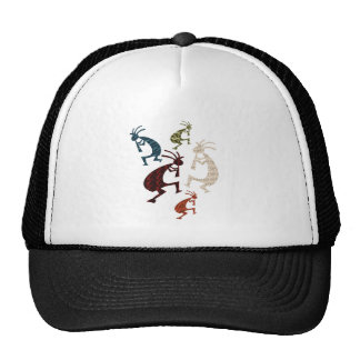 Five Kokopelli Trucker Hat