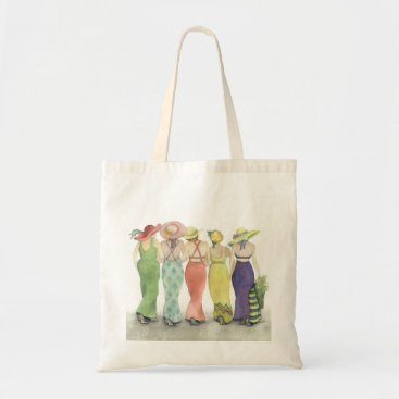 Beach Themed Five Lady Friends Tote Bag