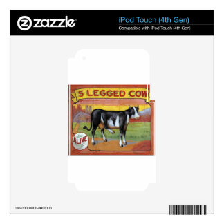 Five Legged Cow Skin For iPod Touch 4G