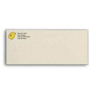 Five Little Birds - Yellow Envelope