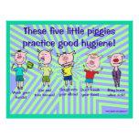 Five little piggies flyer