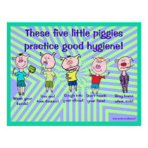 Five little piggies flyer