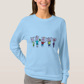 five little piggies T-Shirt