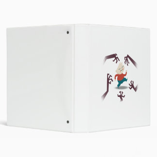 Five Little Zombies And Fred Gear 3 Ring Binder