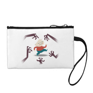 Five Little Zombies And Fred Gear Change Purse