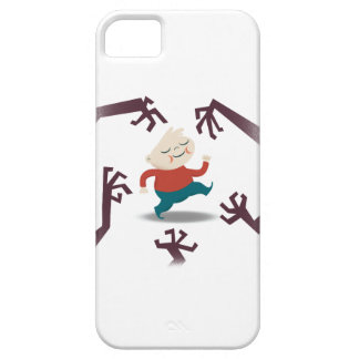 Five Little Zombies And Fred Gear iPhone SE/5/5s Case