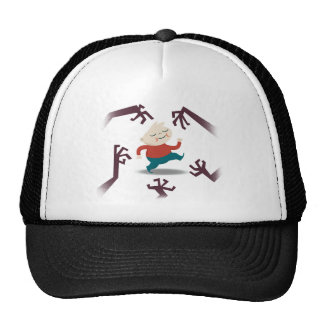 Five Little Zombies And Fred Gear Trucker Hat