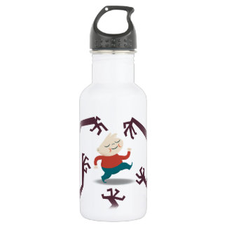 Five Little Zombies And Fred Gear Water Bottle