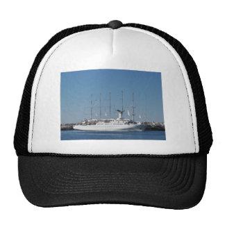 Five Masted Cruise Ship Mesh Hats