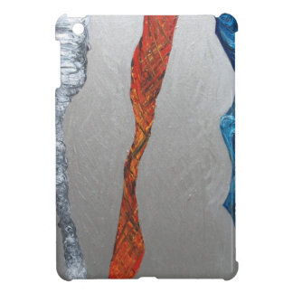 Five Metallic Tornadoes (metallic expressionism) Case For The iPad Mini
