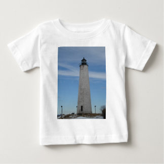 Five Mile Point Lighthouse New Haven CT  Harbor Baby T-Shirt