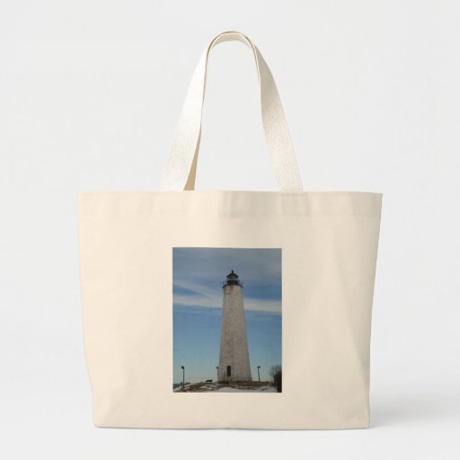 Five Mile Point Lighthouse New Haven CT  Harbor Bag
