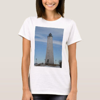 Five Mile Point Lighthouse New Haven CT  Harbor T-Shirt