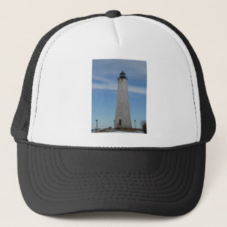 Five Mile Point Lighthouse New Haven CT  Harbor Trucker Hat