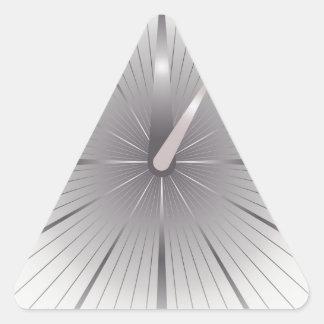 five minutes triangle sticker