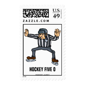 FIVE O STAMPS