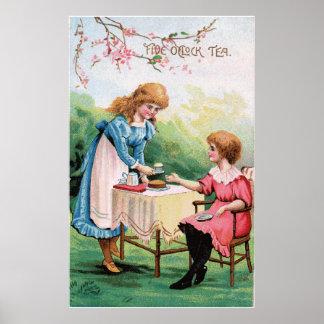 Five O'clock Tea Poster
