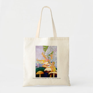 """Five on Mushrooms"" Canvas Tote Bag"
