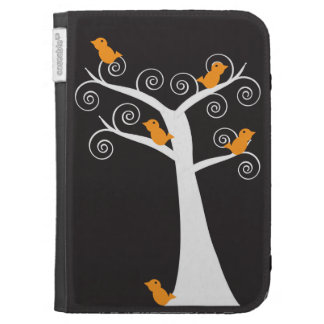Five Orange Birds in a Tree Caseable Case Cases For Kindle