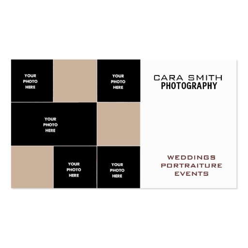 Five Photo Business Card