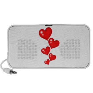 Five pieces of Hearts Speakers