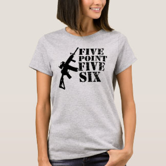 Five Point Five Six Guns Girls T-Shirt
