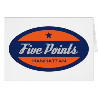 Five Points Card