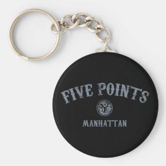 Five Points Key Chains