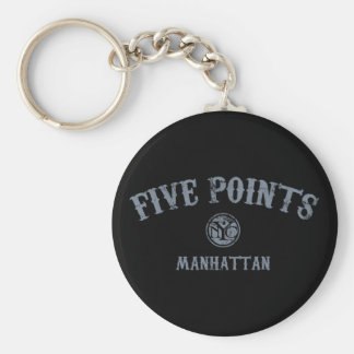 Five Points Key Chains