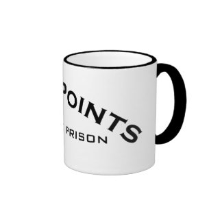 Five Points Logo State Prison Logo Mugs