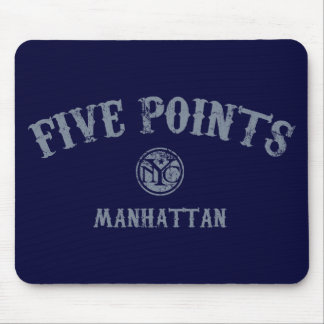 Five Points Mouse Pad