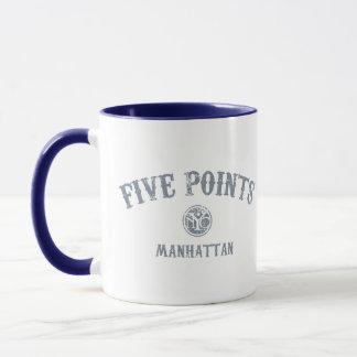 Five Points Mug