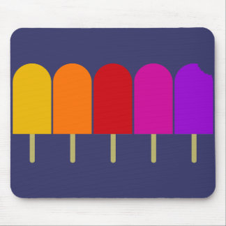 Five Popsicles Mouse Pad