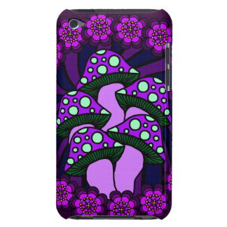 Five Purple Mushrooms iPod Case Case-Mate iPod Touch Case