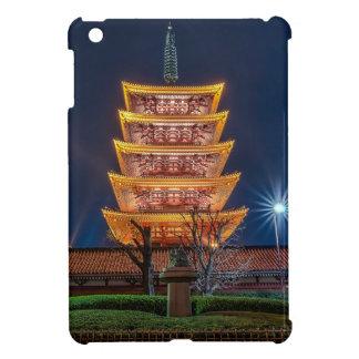 Five-Roof Pagoda at the Asakusa Temple Tokyo iPad Mini Cover