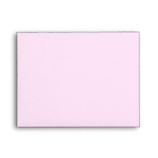 Five Roses on Pink Note Card Envelope