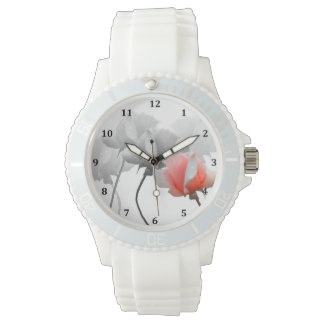 Five Roses Watch with Numbers