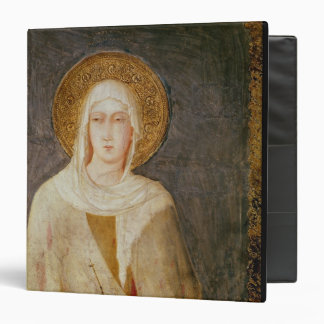 Five Saints, detail of St. Clare Vinyl Binders