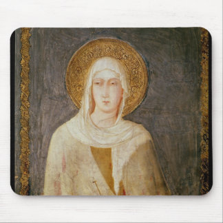 Five Saints, detail of St. Clare Mouse Pad