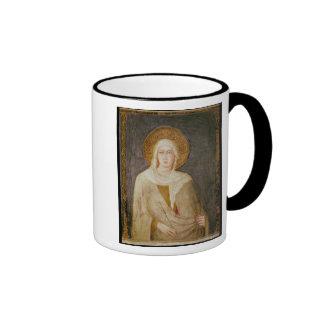 Five Saints, detail of St. Clare Ringer Coffee Mug