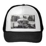 Five Scenes of Oxford England Vintage Trucker Hat