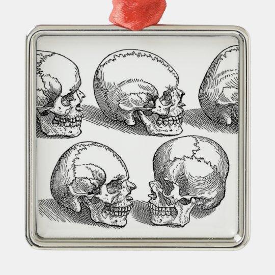 Five Skulls Ornament