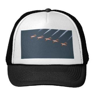Five Snowbirds Flying Upside Down Hats