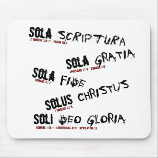 Five Solas Mousepad
