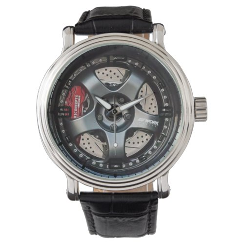 Five Spoke Wheel With Brake Men's Watch