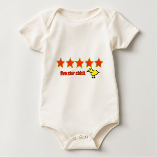 Five Star Chick Baby Bodysuit