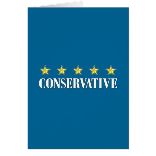 Five Star Conservative Card