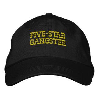 Five-Star Gangster (Snapback - Black) Embroidered Baseball Cap