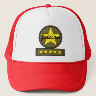 Five Star Godmother Mothers Day Gifts Trucker Hat